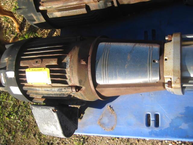 """Image GRUNDFOS Vertical Multistage Pump, 4"""" x 4"""" 899538"""