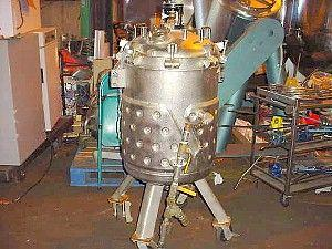 Image 60 Gallon ROBEN 316 Stainless Steel Reactor 324327