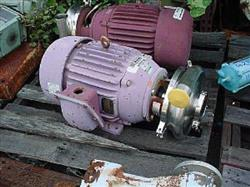 """Image TCI SUPERIOR Stainless Steel Centrifugal Pump, 2.5"""" x 3.5"""" 324334"""