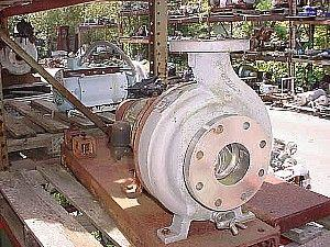 "Image DURCO S/S Alloy D4 Centrifugal Pump, 3"" x 4"" 324335"