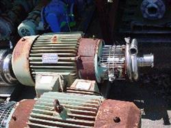 "Image TRI-CLOVER S/S Centrifugal Pump, 3"" x 1.5"" 324343"
