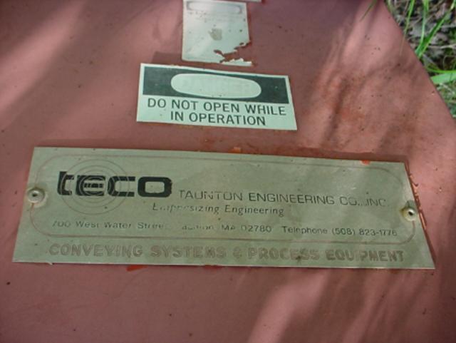 "Image 10"" x 12 Ft TAUNTON ENGINEERING Screw Conveyor 324400"