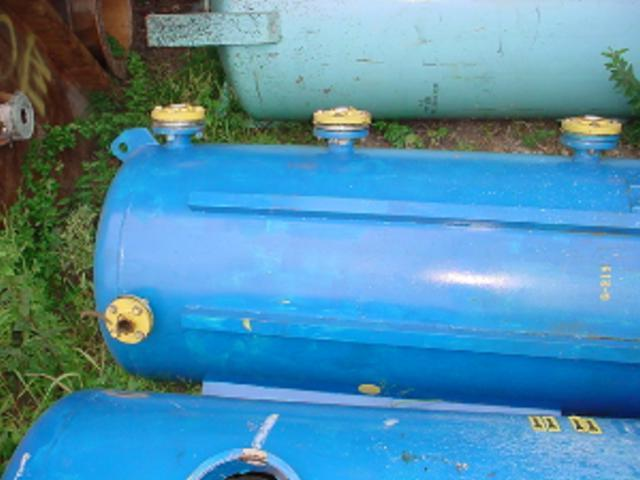 300 Gal MASSACHUSETTS Carbon Steel Pressure Tank, 100 psi