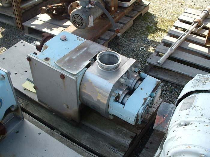 G & H Positive Displacement Pump 4""