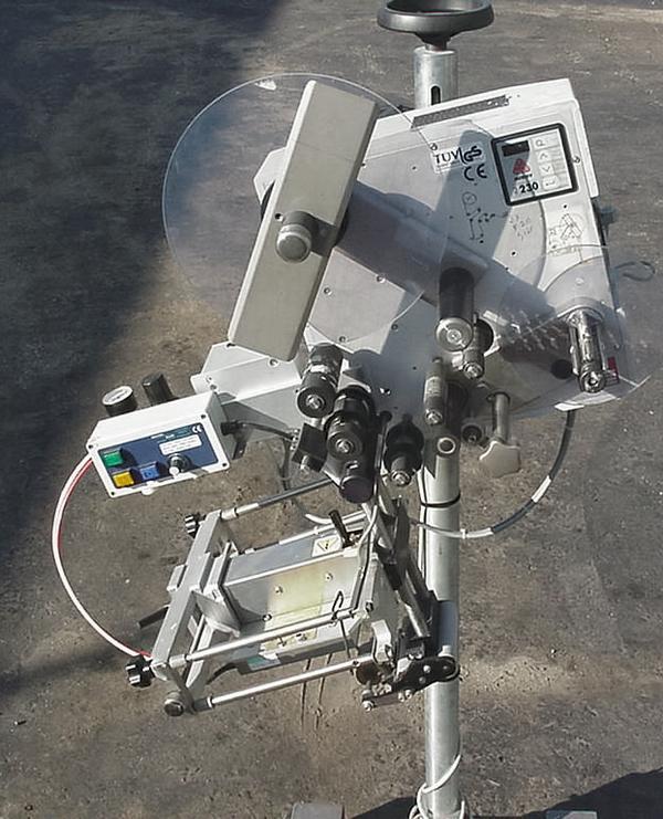 Image CCL ALS 230 Pressure Sensitive Wipe on Labeler 324551