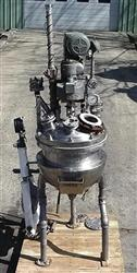 "Image 20 Gallon GROEN  ""Twin Agitator"" 316 SS Reactor 324555"