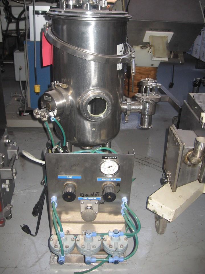 20 Liter PFT-1 Stainless Steel Pressure Tank