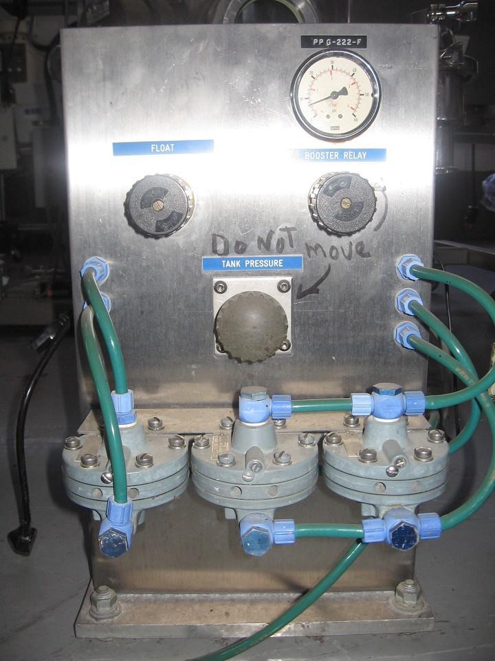 Image 20 Liter PFT-1 Stainless Steel Pressure Tank 324672