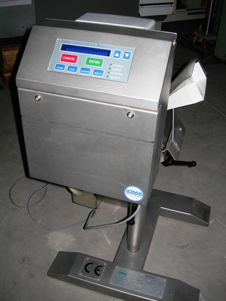 LOMA Superscan Micro Inclined Metal Detector