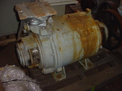 Image 100 HP NASH SC7 Carbon Steel Liquid Ring Vacuum Pump 515672