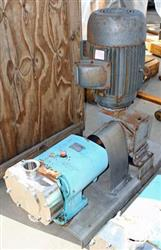 """Image 2.5"""" in and out G&H Rotary Lobe Pump, 15HP 325082"""