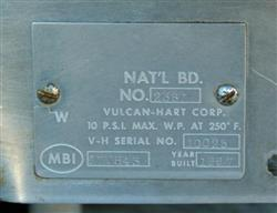 Image 20 Gal VULCAN HART Model SS-20 Process Kettle 325110