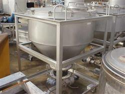 105353 - 15 cf (approx) Stainless Steel Hopper/Tote
