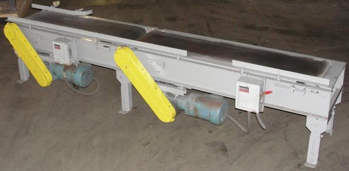 "Case Spacing (Gapping) Belt Conveyor, CS, 12"" W"