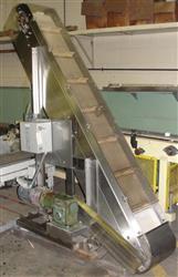 Image NEDCO S/S Inclined Belt Conveyor 325303