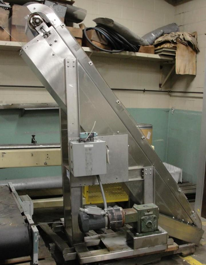 Image NEDCO S/S Inclined Belt Conveyor 325304