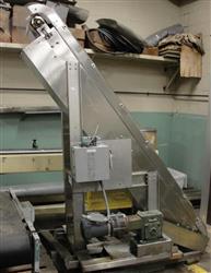 Image NEDCO S/S Inclined Belt Conveyor 325304