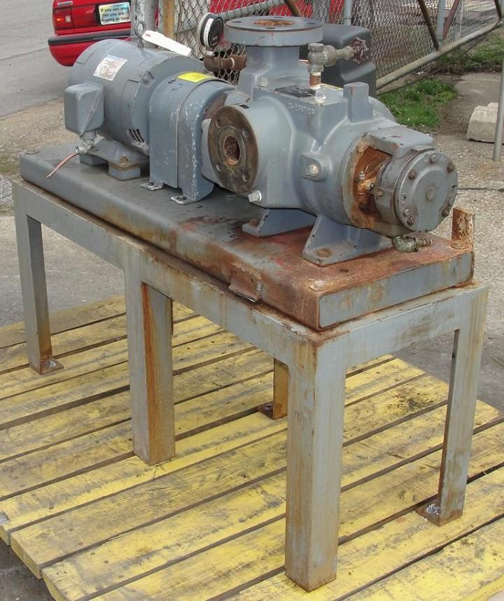 Image 10 HP NASH C/S Liquid Ring Vacuum Pump, 76 cfm 325310