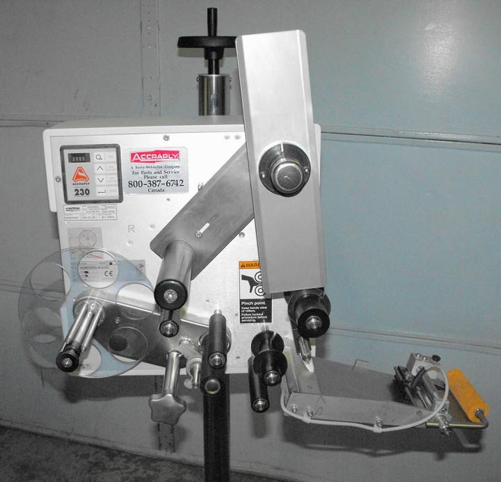 Image ACCRAPLY Model ALS-230-RH Labeler, New in 2006 325313