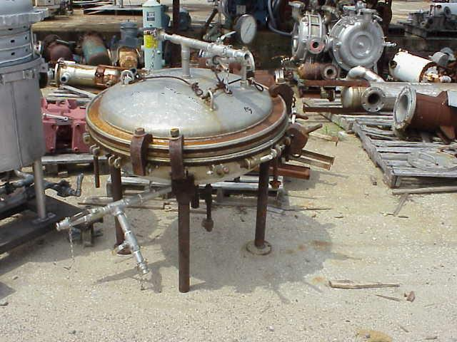 "30"" Dia NUTSCHE Jacketed Pressure Filter"