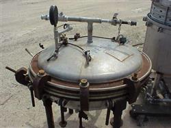 """Image 30"""" Dia NUTSCHE Jacketed Pressure Filter 325446"""