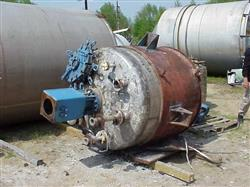 Image 500 Gallon Stainless Steel Cone Bottom Reactor 325473