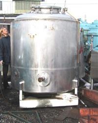 Image 750 Gallon MUELLER Reactor, Stainless 325524