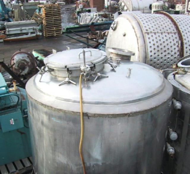 Image 750 Gallon MUELLER Reactor, Stainless 325526