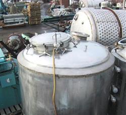 Image 750 Gallon MUELLER Reactor, Stainless 325526