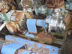 """Image 3"""" x 3.5"""" HILGE 316 S/S Centrifugal Pump 325583"""