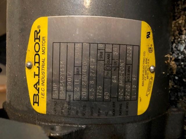 Image PREVAC Model SPR-70 Vacuum Pump 1372742