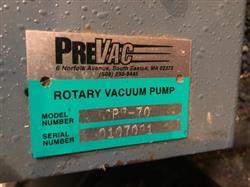 Image PREVAC Model SPR-70 Vacuum Pump 1372743