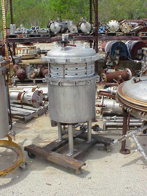 Image SPARKLER Model 18D8 Pressure Leaf Type Filter 325697