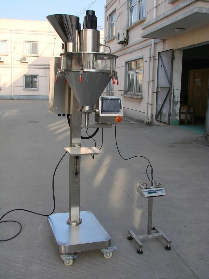 Model PF-150S Semi-Automatic Powder Filler