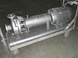 "Image 1-1/2"" x 1"" DURCO S/S Pump w/XP, 10HP Motor 325979"