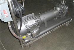 "Image 1-1/2"" x 1"" DURCO S/S Pump w/XP, 10HP Motor 325981"