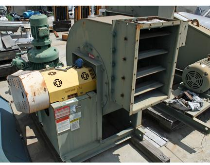 20 HP N.Y. CITY Blower, 8000 cfm