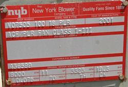 Image 20 HP N.Y. CITY Blower, 8000 cfm 326093