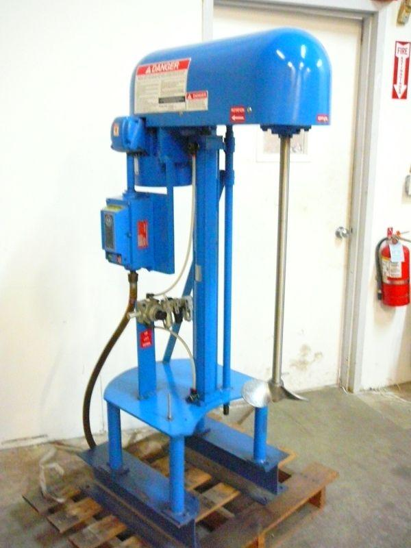 SHAR INC Model D-15 SPZ Disperser/Mixer