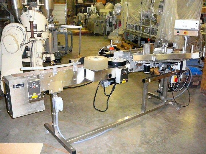 Image NEWMAN NV11 Pressure Sensitive Wrap Labeler 326157
