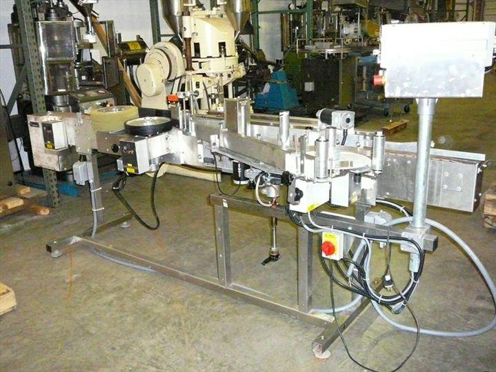 Image NEWMAN NV11 Pressure Sensitive Wrap Labeler 326162
