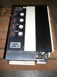 Image LABEL-AIRE Model# 2137-Z90 Printer/Applicator 326163
