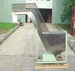 108298 - 7' Cleated Inclined Belt Conveyor