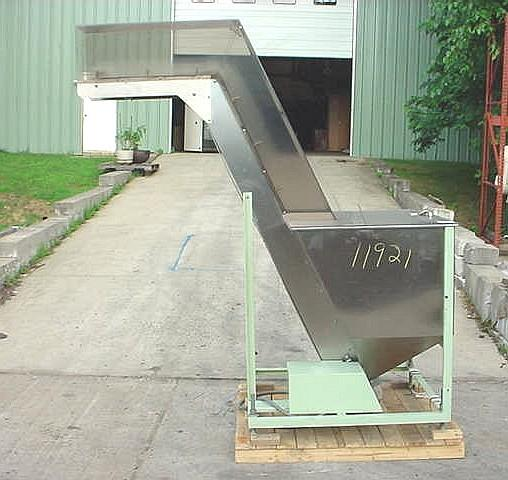 Image 7ft Cleated Inclined Belt Conveyor 725182