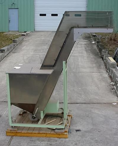 Image 7ft Cleated Inclined Belt Conveyor 725185