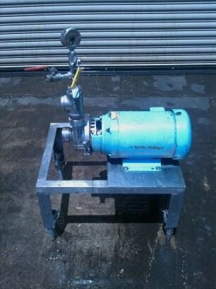 Image 5 HP ALFA LAVAL Stainless Centrifugal Pump 326406