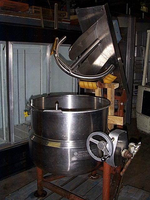 40 Gal Steam Jacketed Mixer Kettle