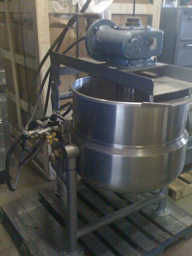 Image 40 Gal Steam Jacketed Mixer Kettle 326408