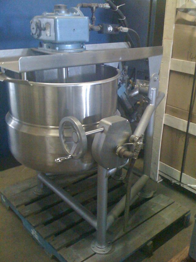 Image 40 Gal Steam Jacketed Mixer Kettle 326409