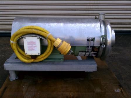 Image 7.5 HP TRI CLOVER Stainless Centrifugal Pump 326414